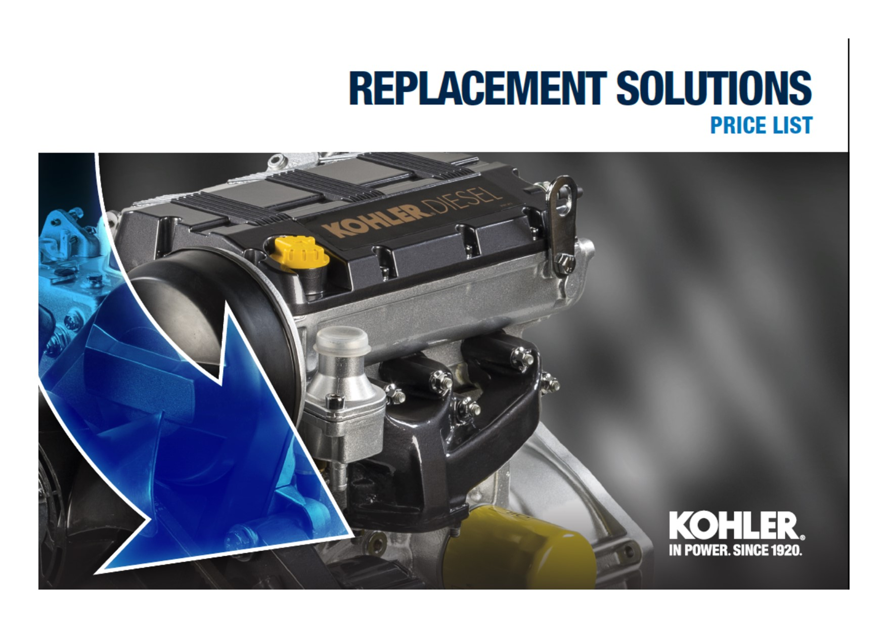 Kohler Replacement Solutions Copertina